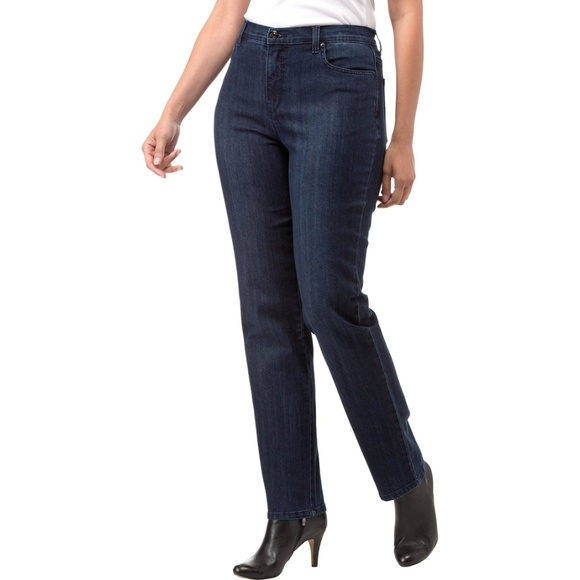 dc046eaa702cf2 Gloria Vanderbilt Jeans | Sale New Amanda Embroidered Slimming Jean ...